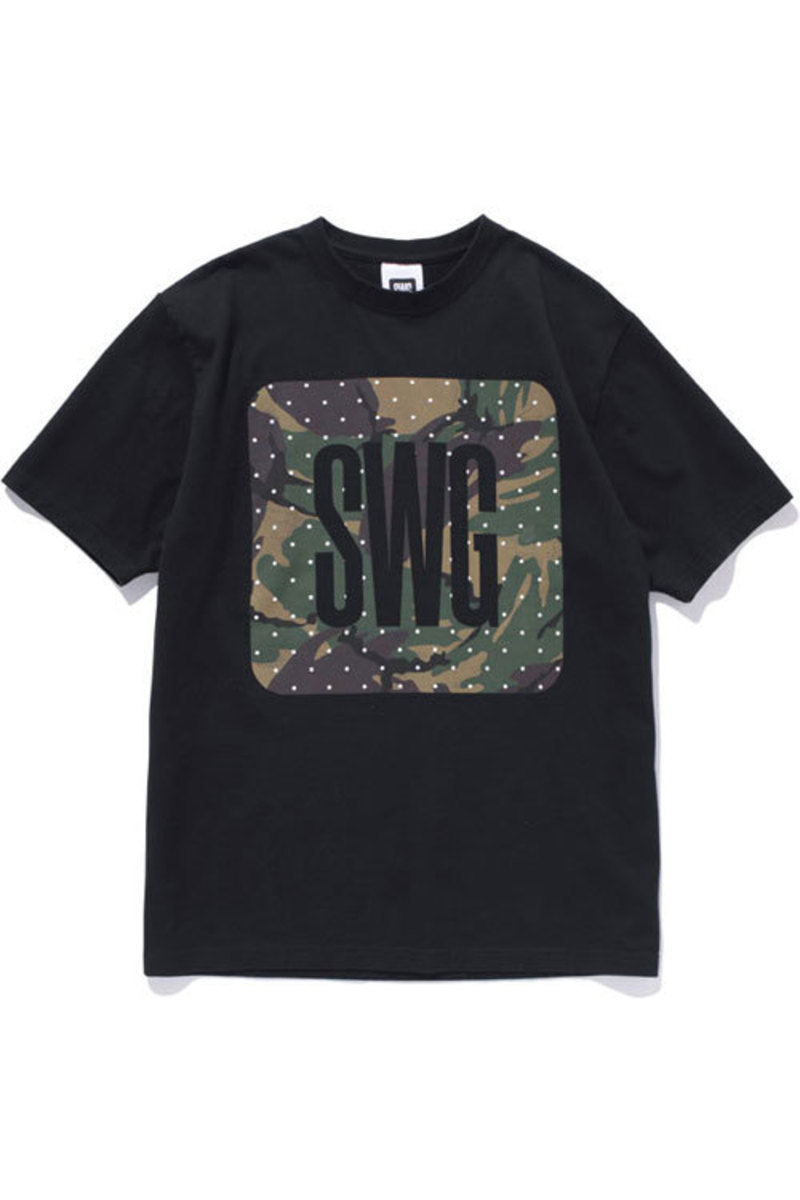 Dot Camo T-Shirt Black