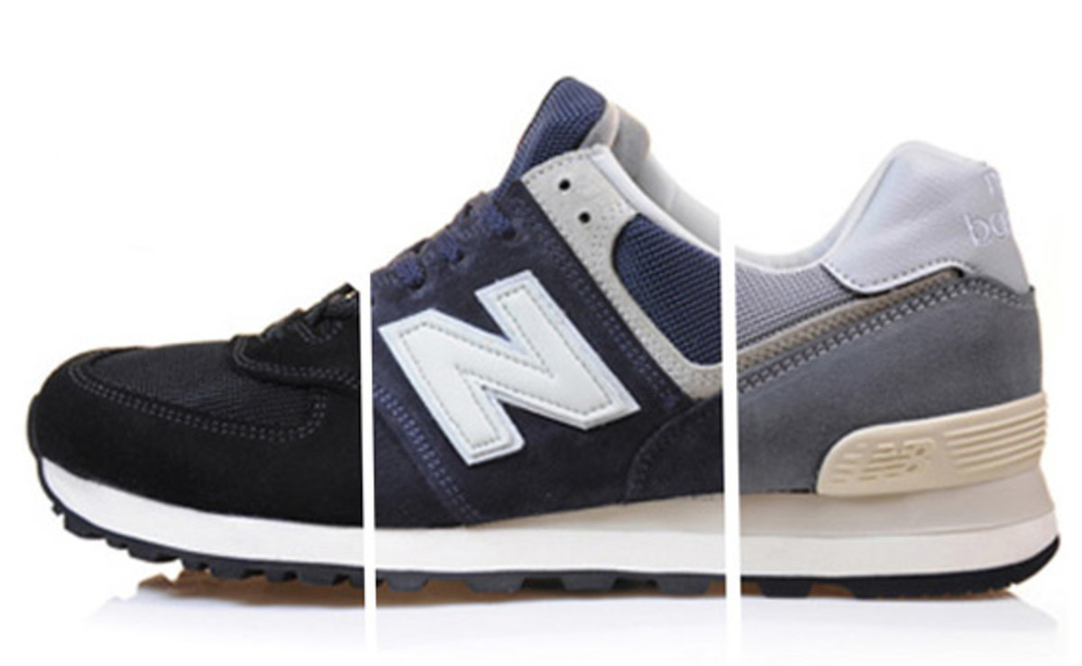 new balance 574 noir made in england
