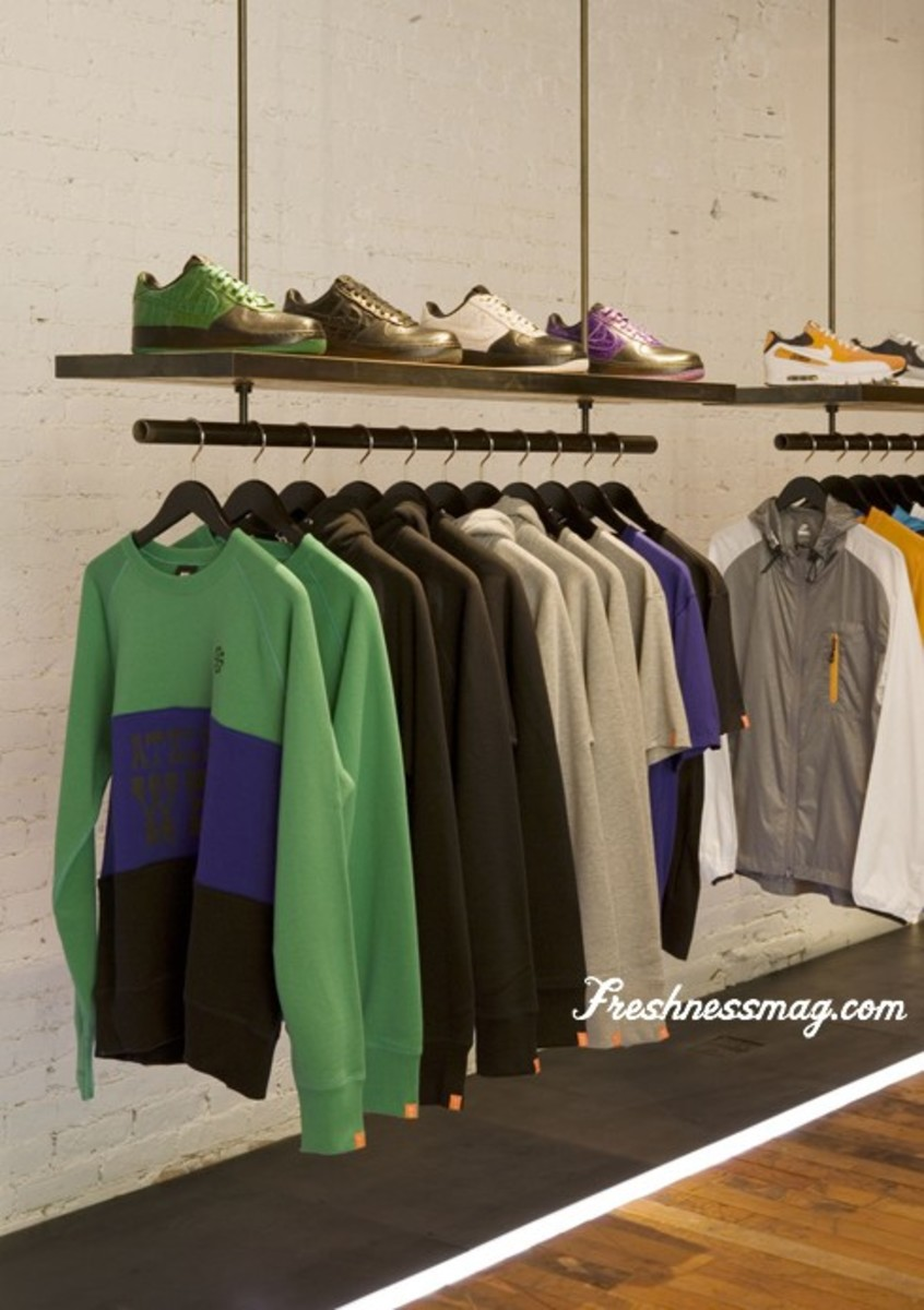 Nike Sportswear - 21 Mercer Street Flagship - Store Preview