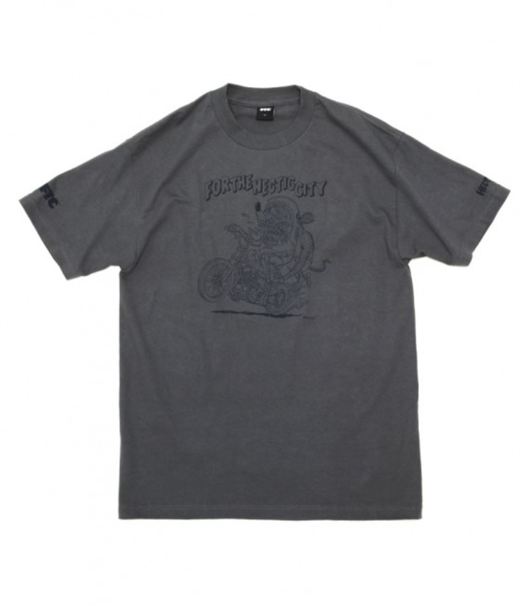 For The Hectic City T-Shirt Charcoal