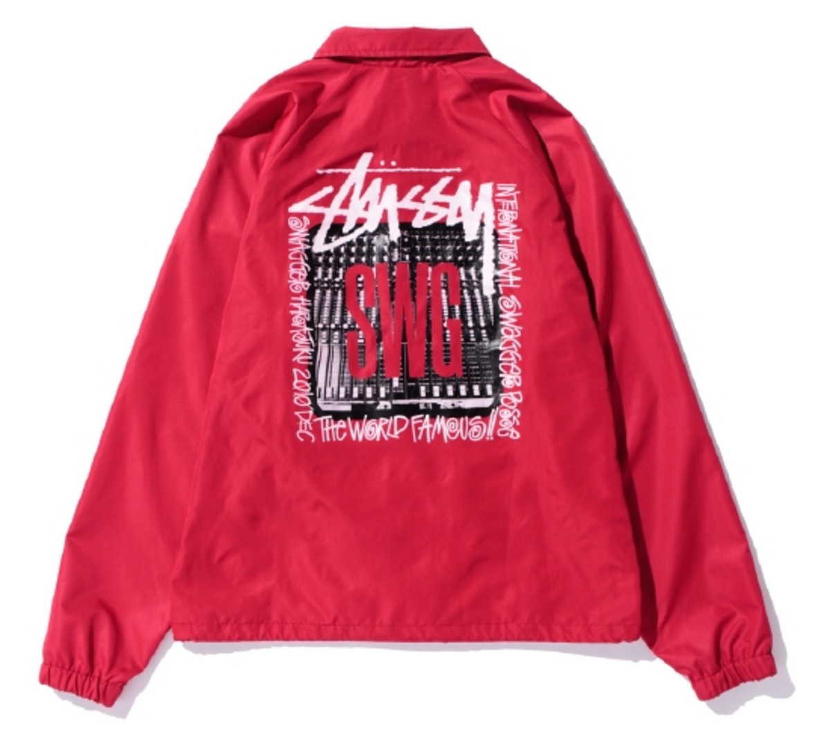 Coach Jacket Red 2
