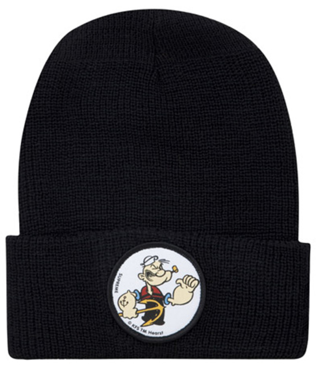 Supreme popeye 2010 collection beanie