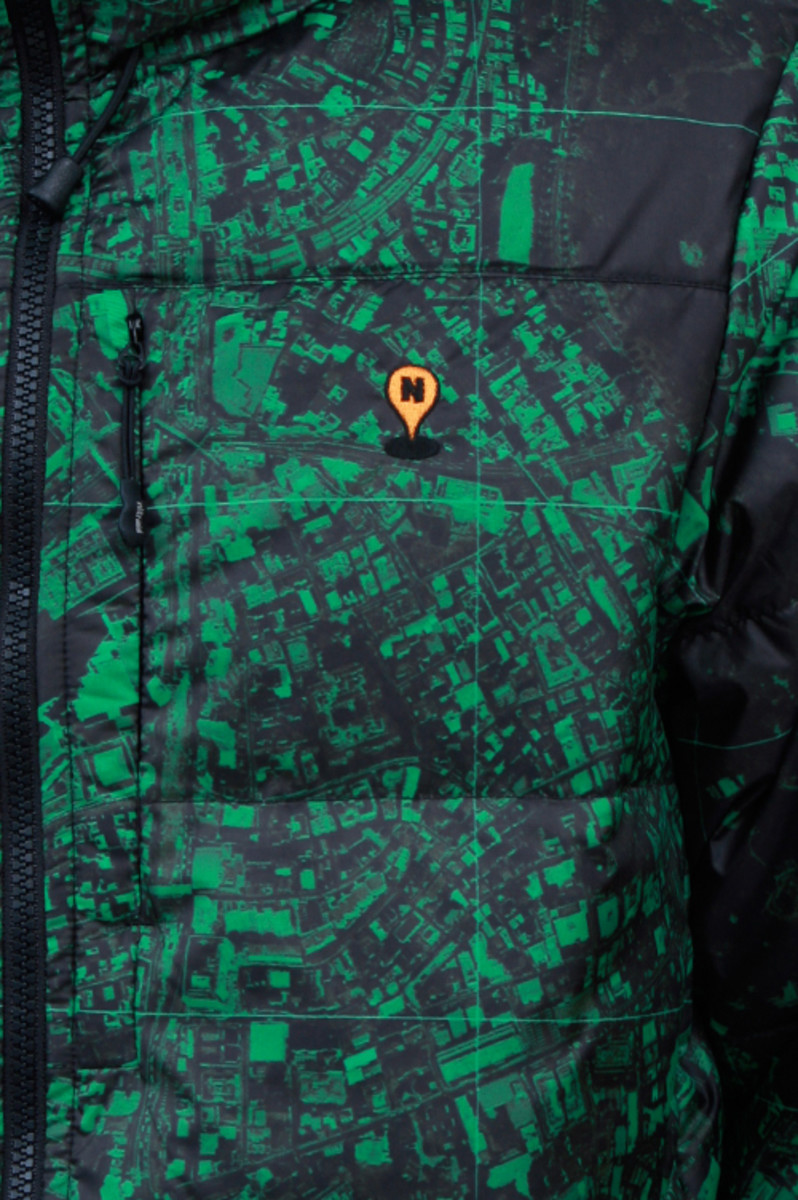 Hooded Down Jacket Green 4