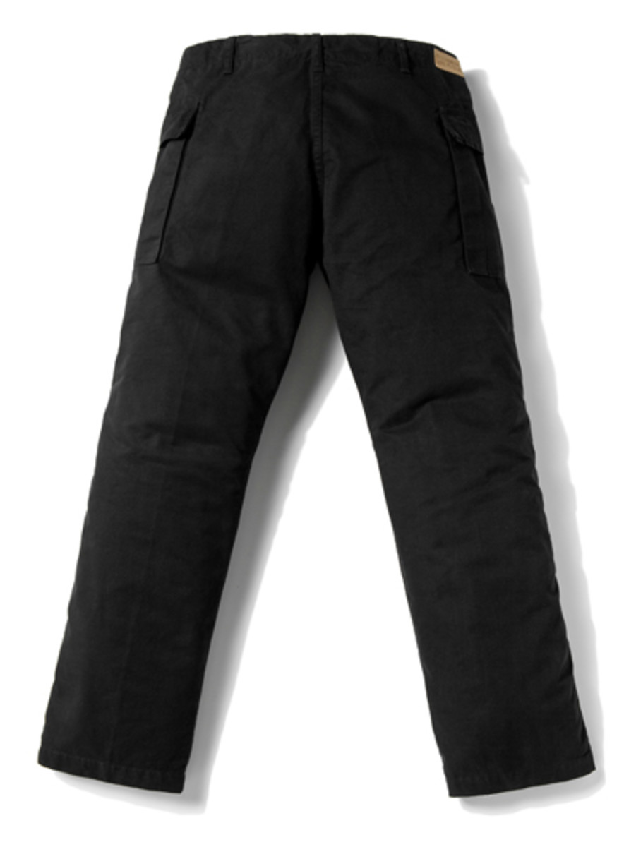 Side Pocket Knee Pad Pants 2