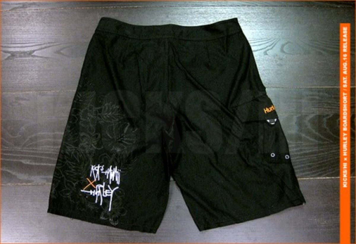 KICKS/HI x Hurley - Board Shorts & Movement Slippers