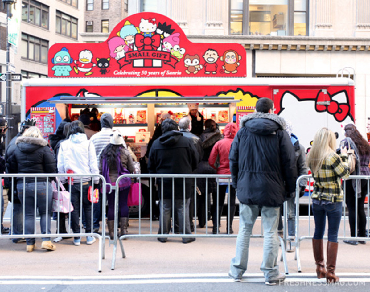 Sanrio 50th Anniversary   Small Gift Pop Up Shop New York City