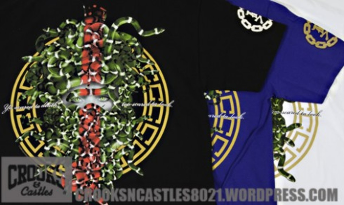 Crooks & Castles x DISSIZIT! - Exclusive T-Shirt
