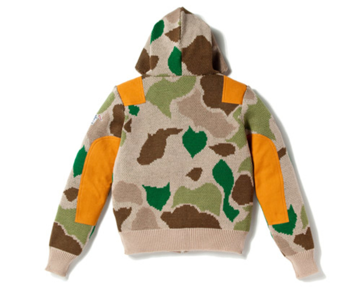 Camo Full Zip Sweater 2