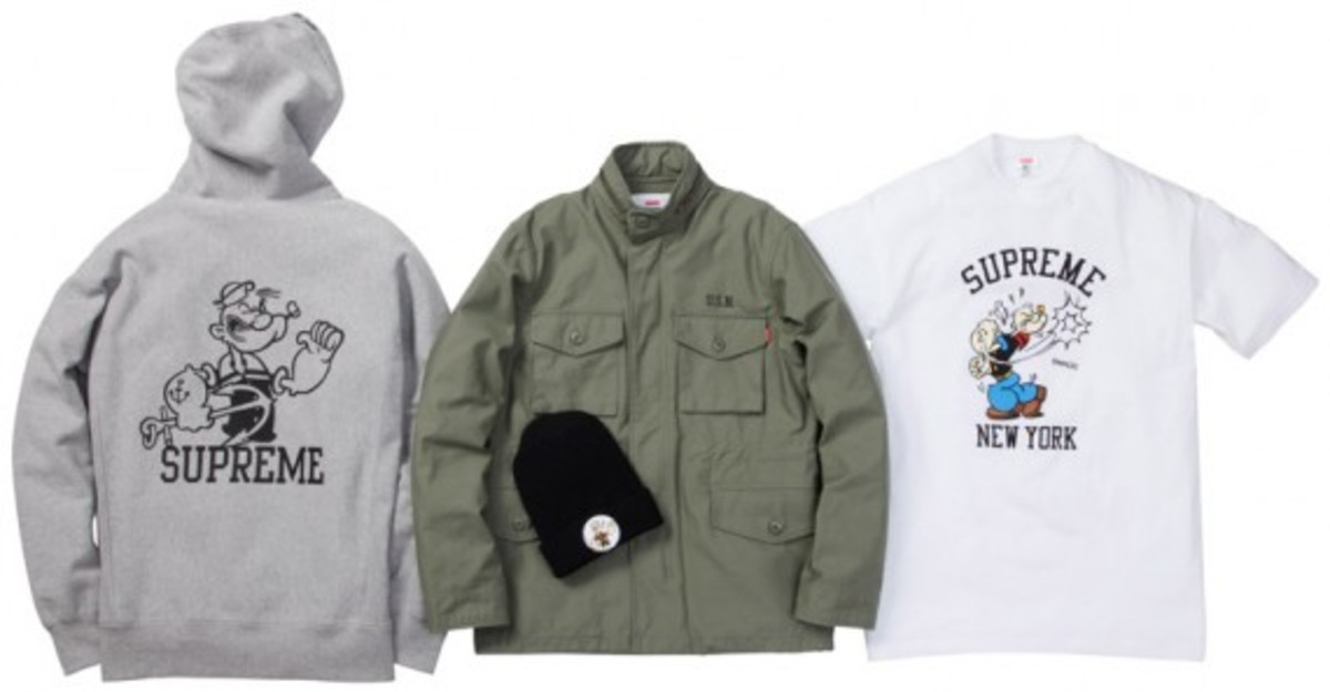 supreme popeye collection 2010 group