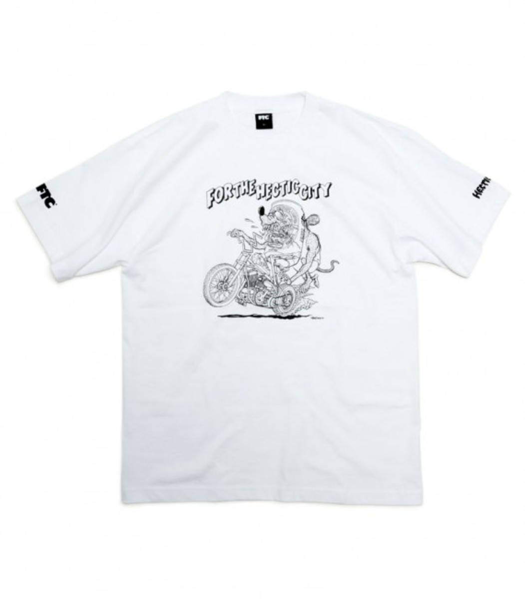 For The Hectic City T-Shirt White