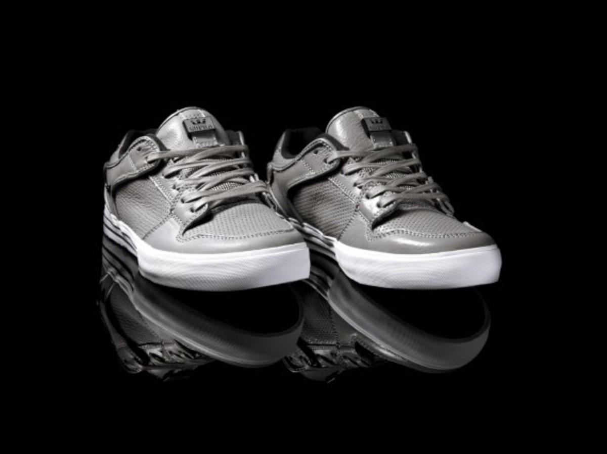 Vaider Low Grey Full-grain Leather 2