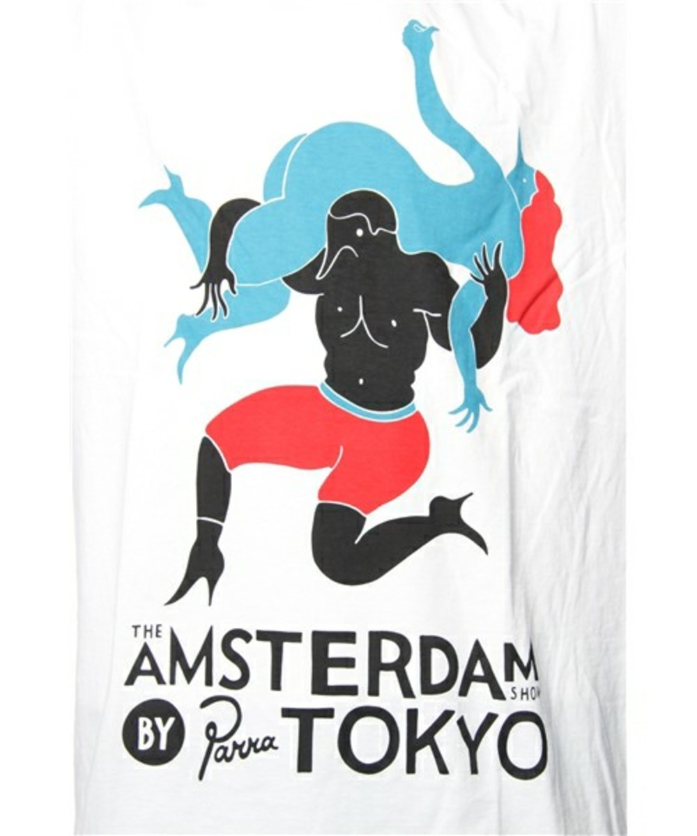 Amsterdam by Parra T-Shirt White 2