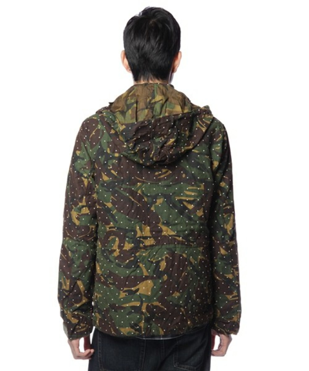 Dot Camo Army Oiled Jacket 2
