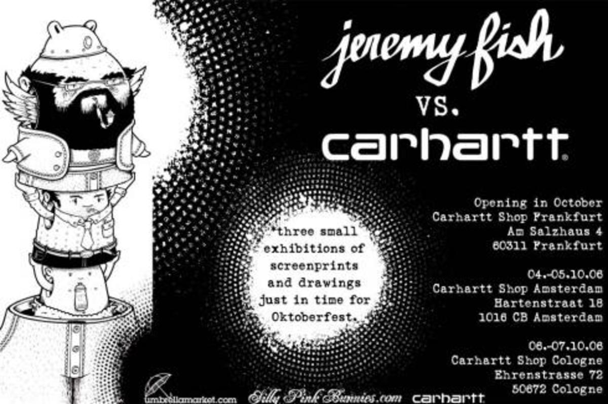 Jeremy Fish x Carhartt - European Tour - 2