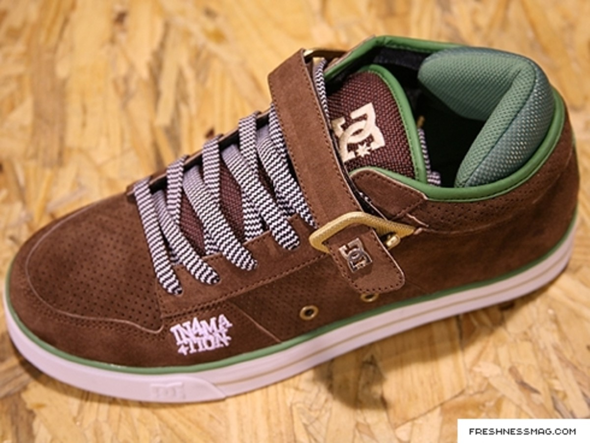 In4mation x DC Shoes Double Label Project - DC Volcano