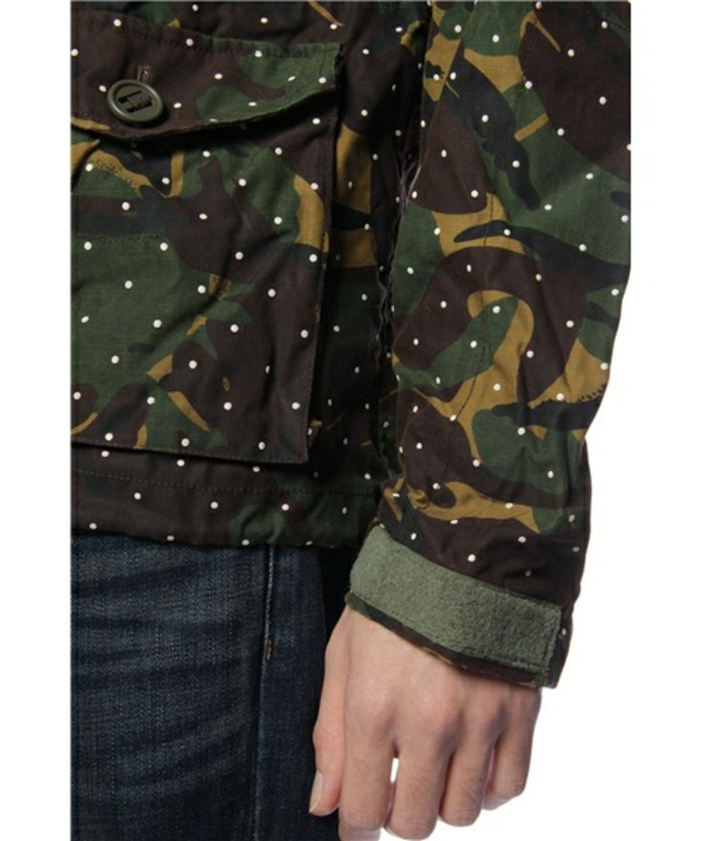 Dot Camo Army Oiled Jacket 6