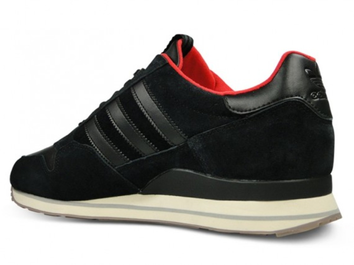 ZX500 Leather Black Off White 3