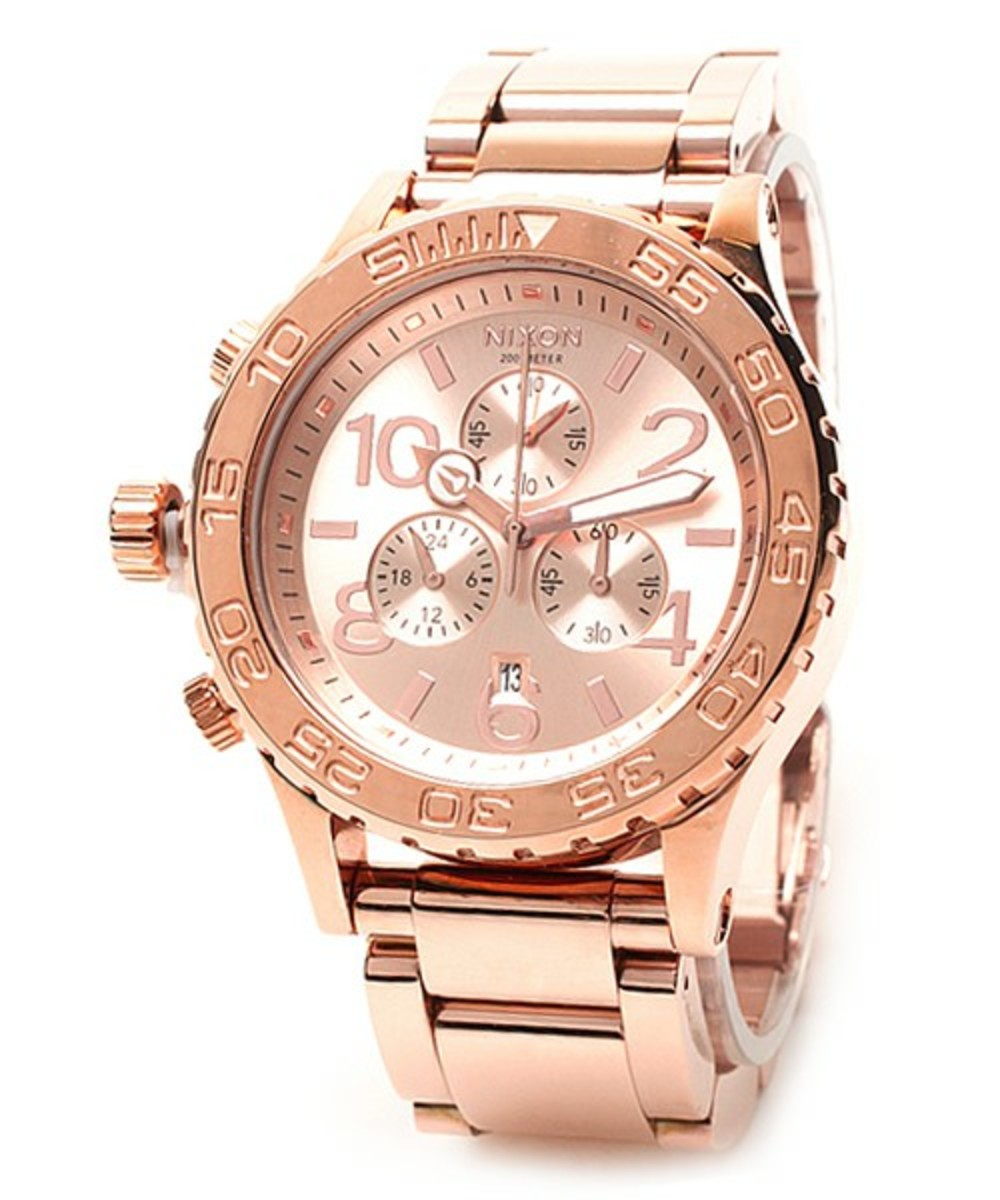 The 42-20 Chrono Pink Gold