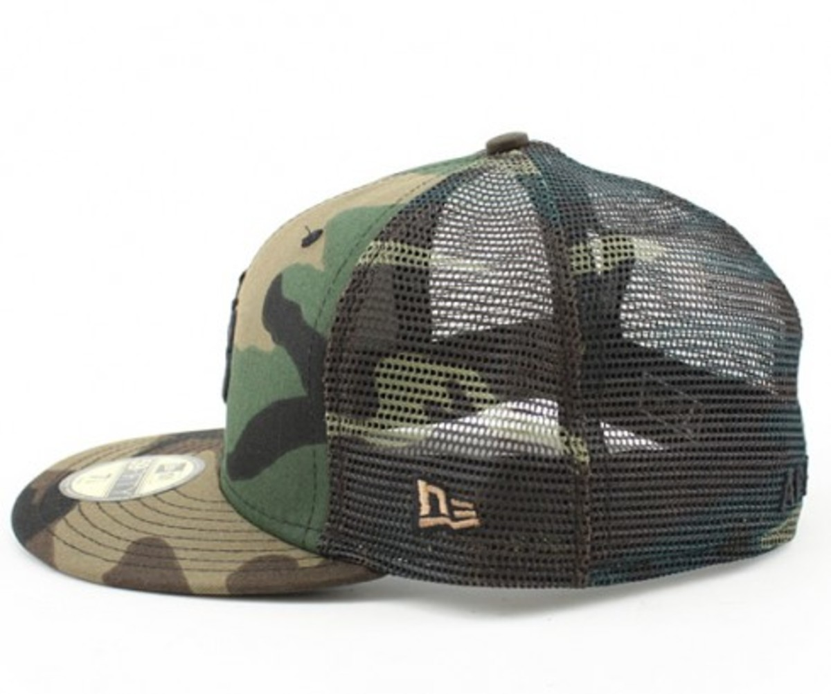 APPLEBUM x New Era 59FIFTY - AB Logo Camoflage Mesh Cap