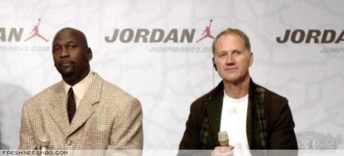 Michael Jordan + Tinker Hatfield - Paris + Berlin - 0