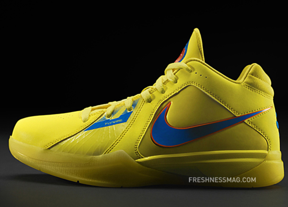 Kevin Durant x Nike Zoom KD III   Christmas Day 2010 No Yield For Yellow | Detailed Look