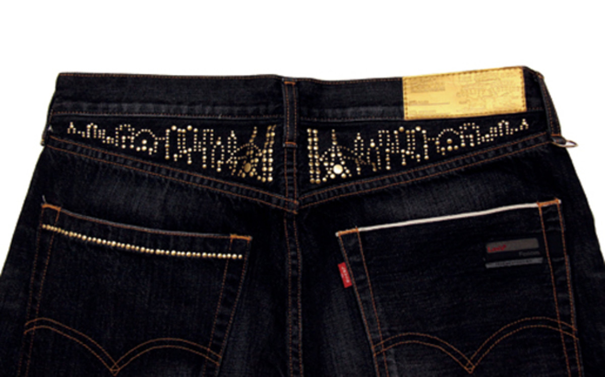Levi's Fenom 207 NITRO Metal DISCO Decoration Crush Customize 3