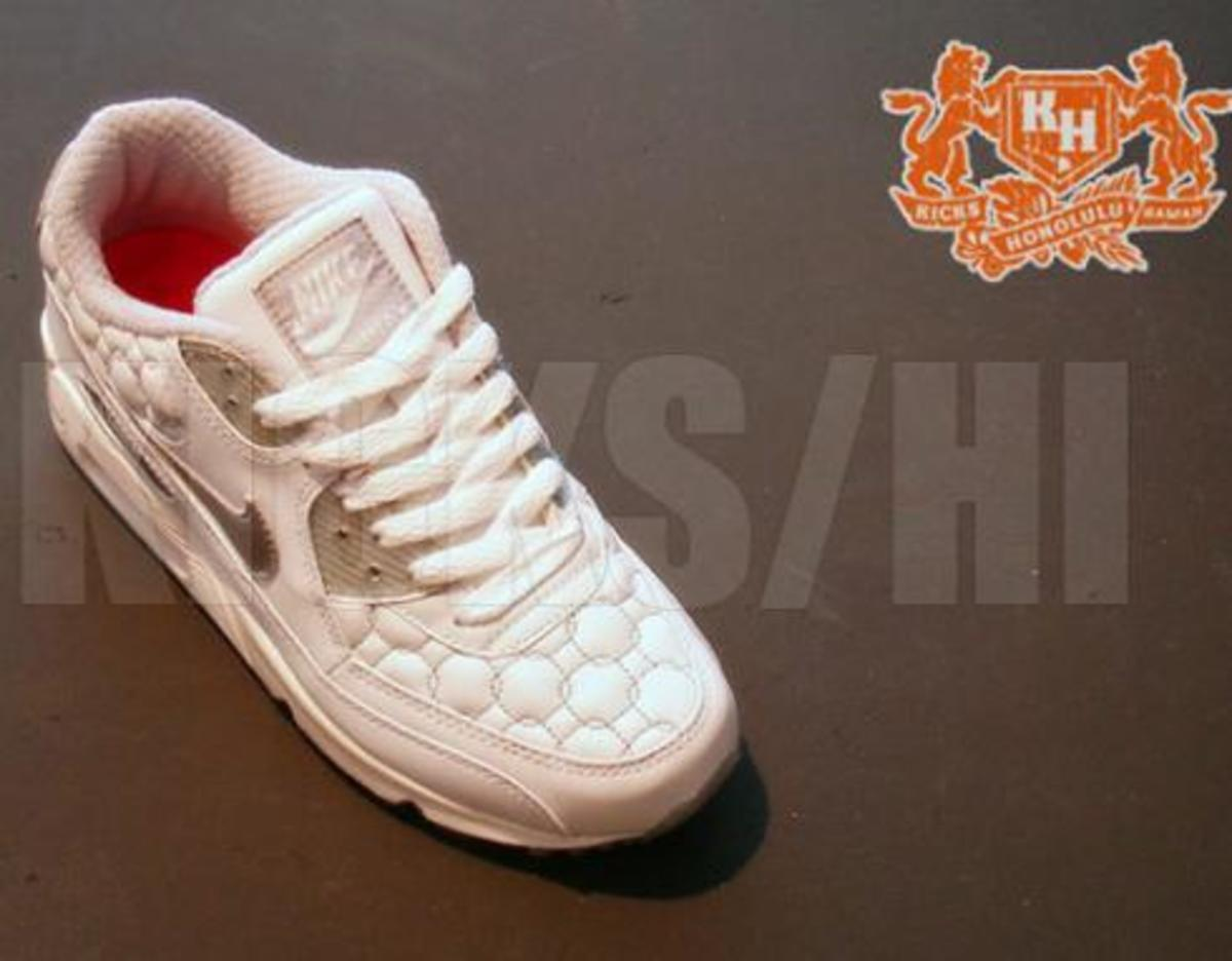 timeless design a2404 ddffe Nike Air Max 90 - Quilted - 3