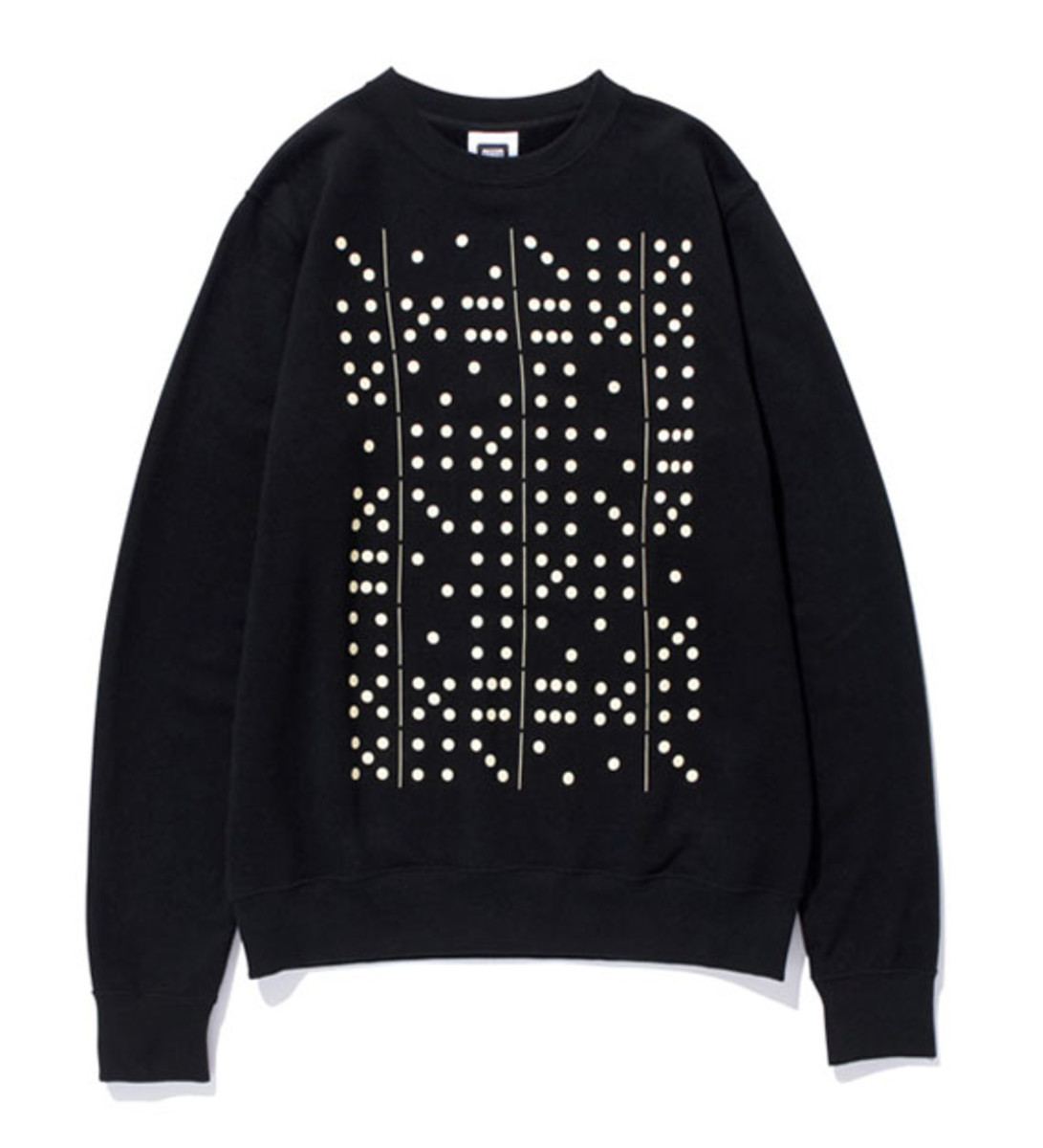Domino Sweat Shirt Black