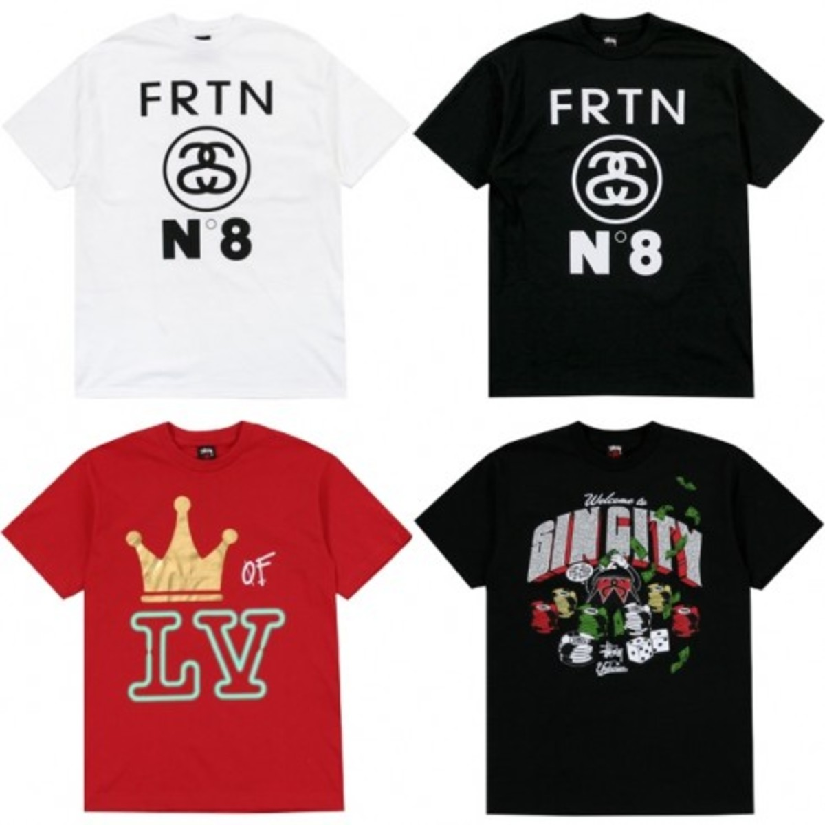Stussy - Las Vegas Chapter Store Exclusive Tees - 0