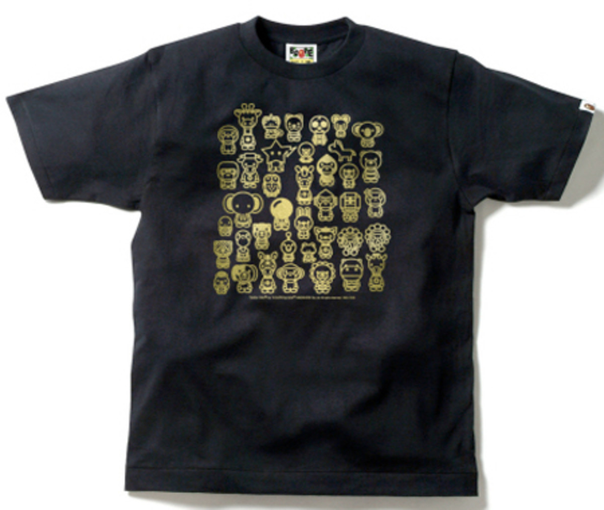 A Bathing Ape (BAPE)  (BAPE) - Milo A ~ Z Animals T-Shirt