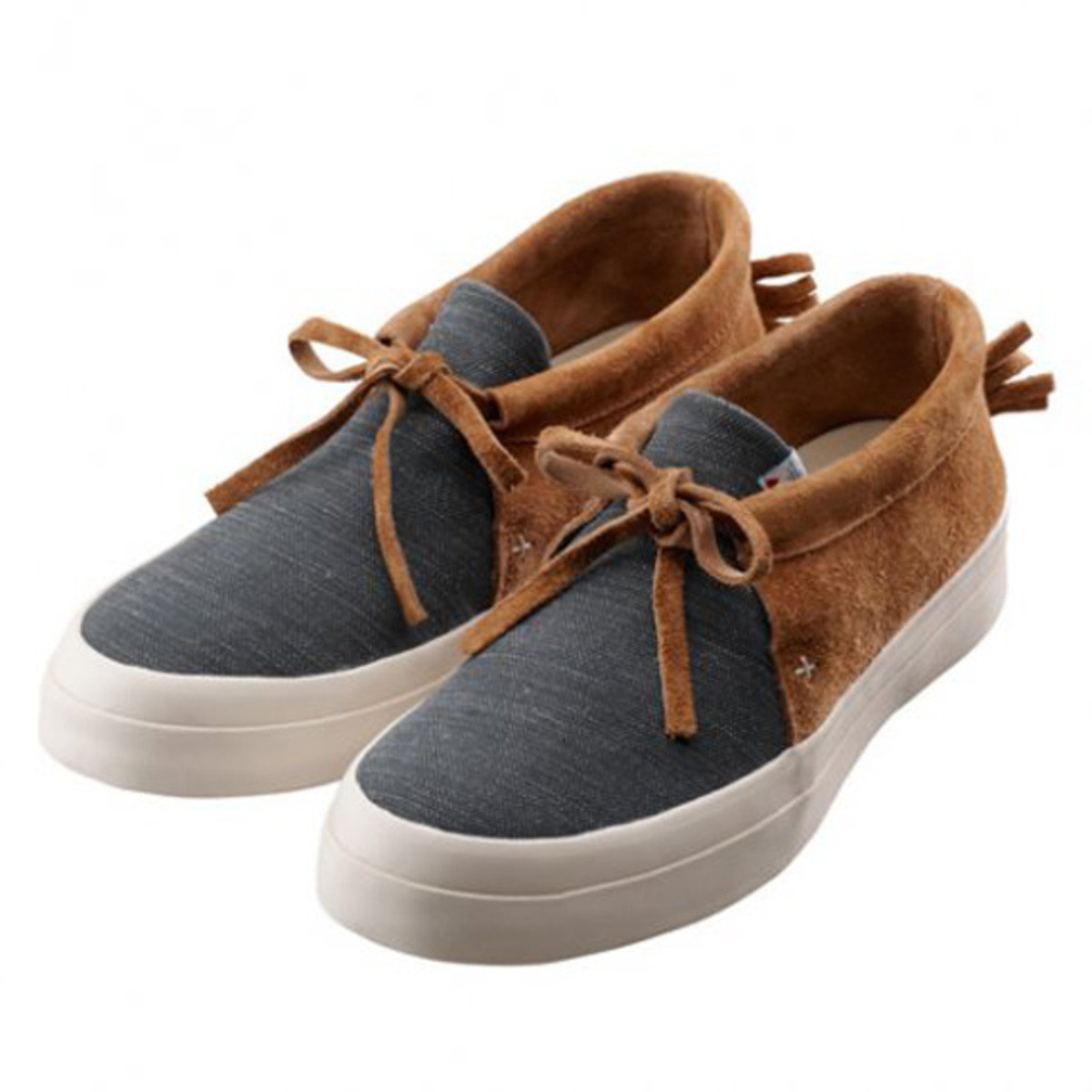 Flynt Lo Canvas Navy Light Brown