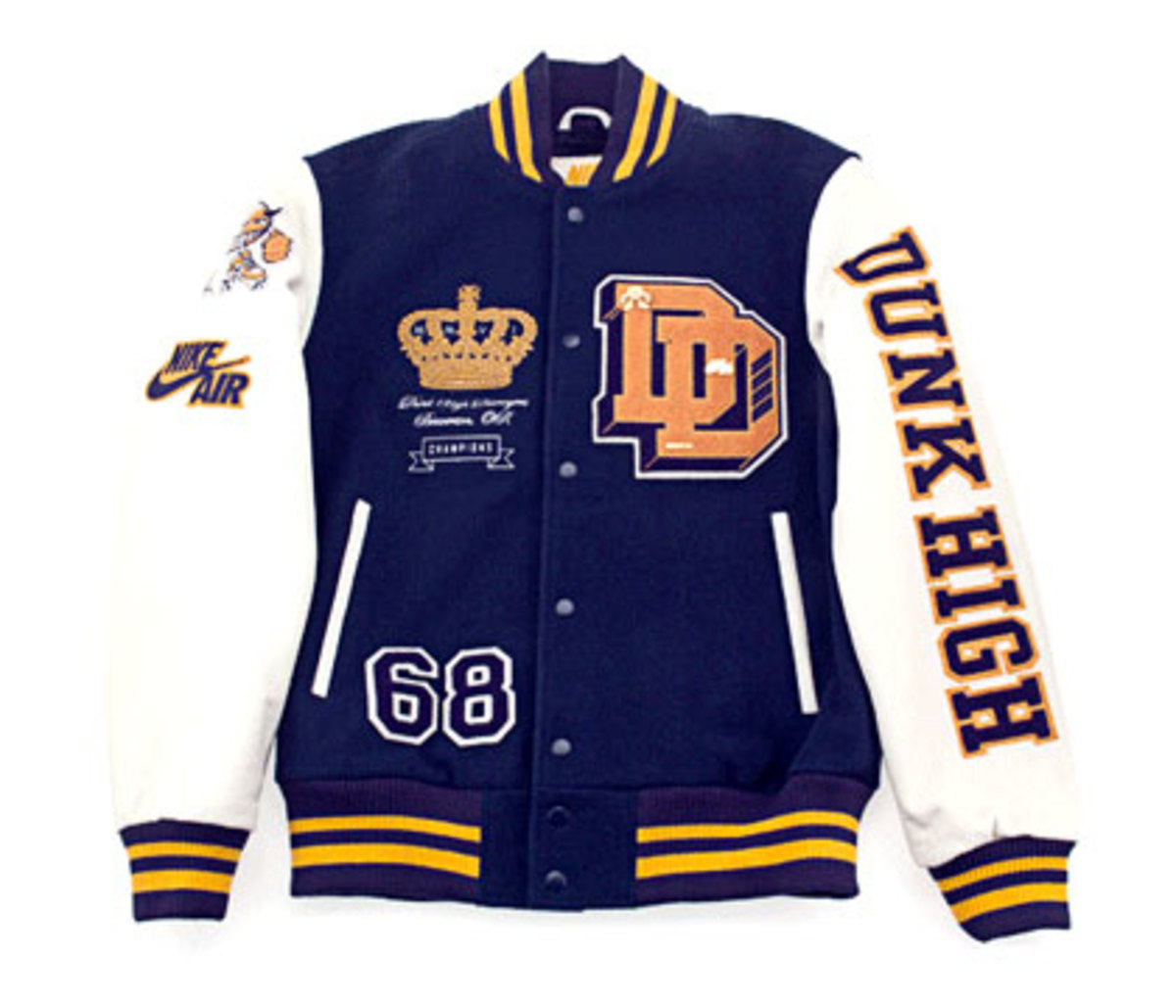 Nike x Destroyers - Dunk High + Letterman Jacket - 4
