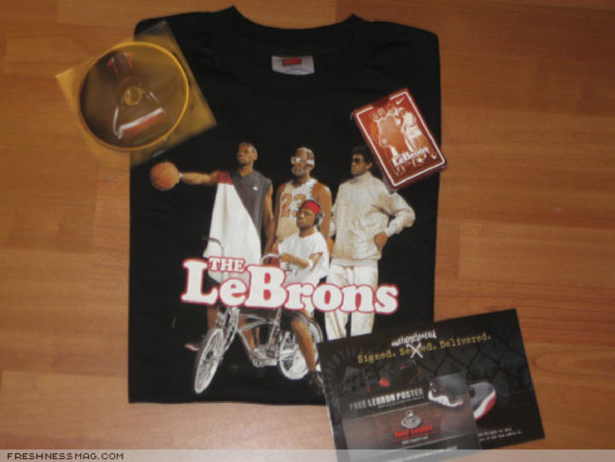 LeBron NYC Pop-Up Store Exclusive Products + Gifts - 2