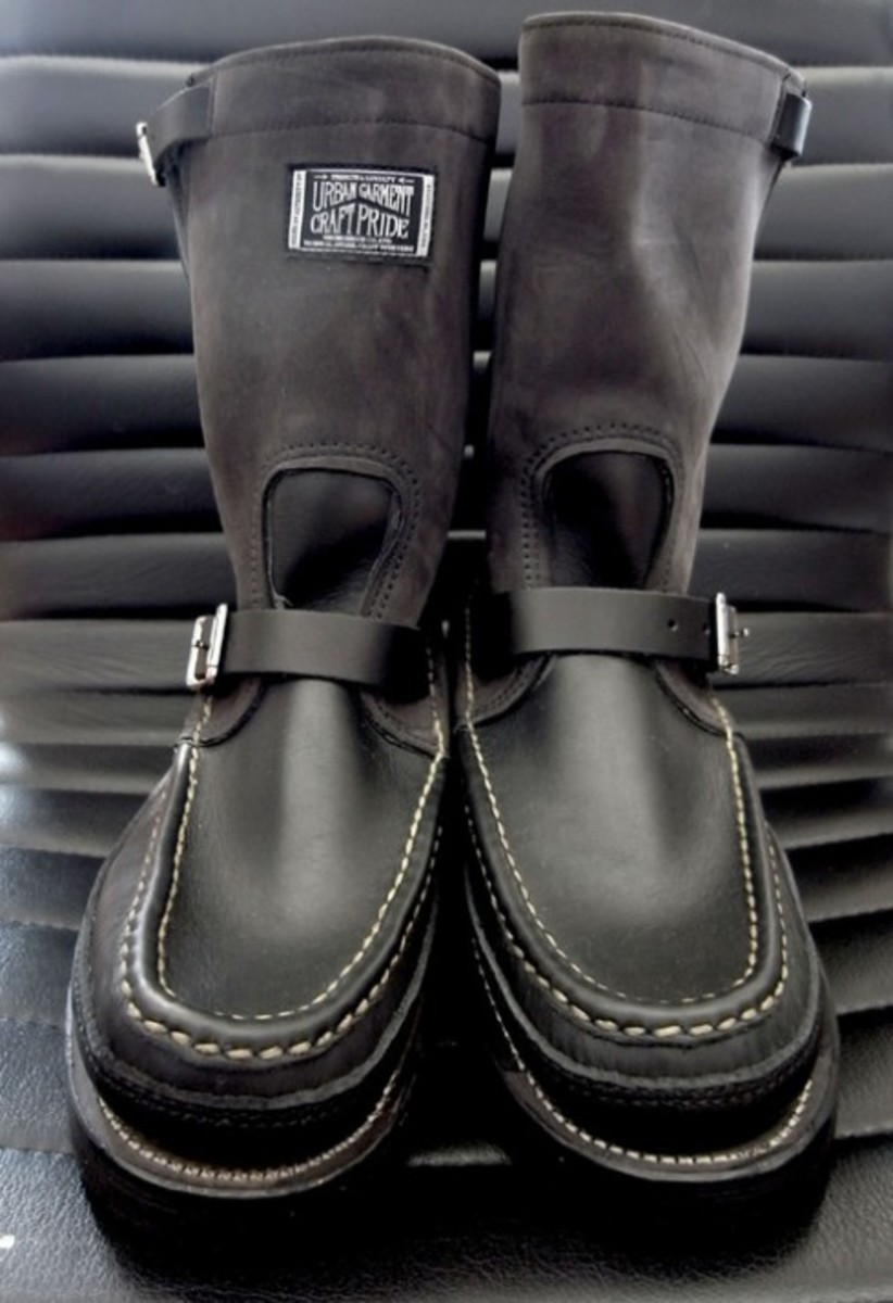 NEIGHBORHOOD x Russell Moccasin - Cavalier Boot - 1