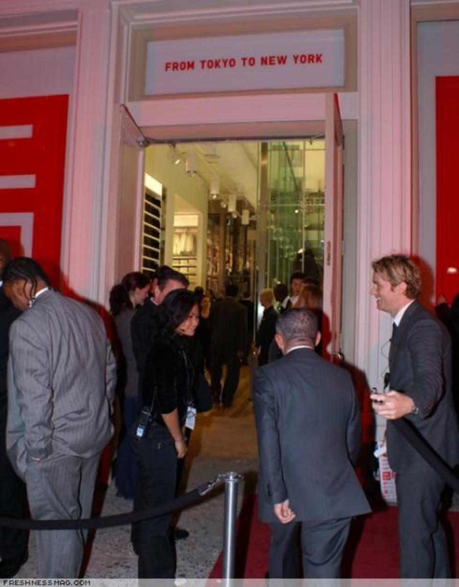 UNIQLO SoHo Flagship - Pre-Opening Party - 1