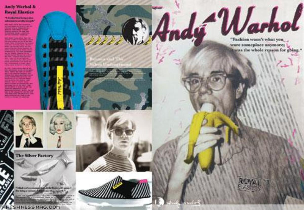 Royal Elastics x Andy Warhol - 0