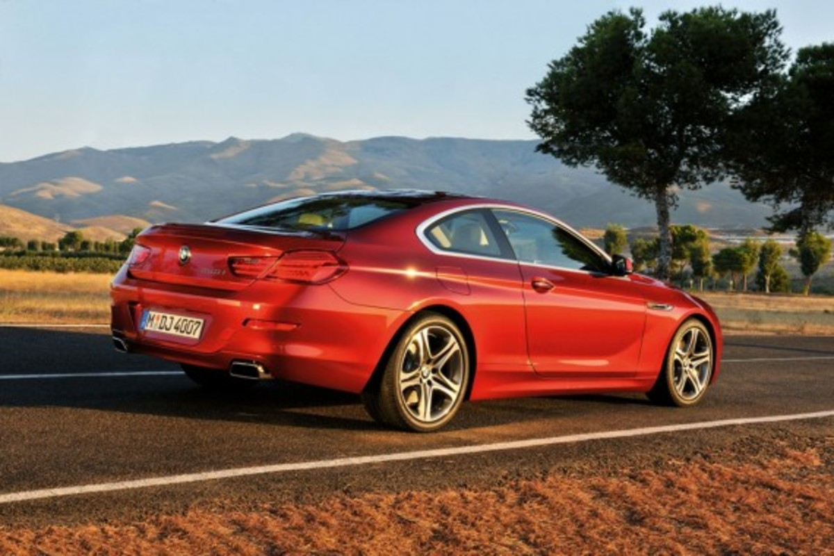 2012 BMW 6 Series Coupe 1