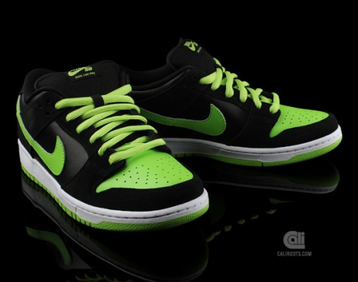Nike SB Dunk Low Pro Neon J Pack - Freshness Mag 08fd3ca5ae60