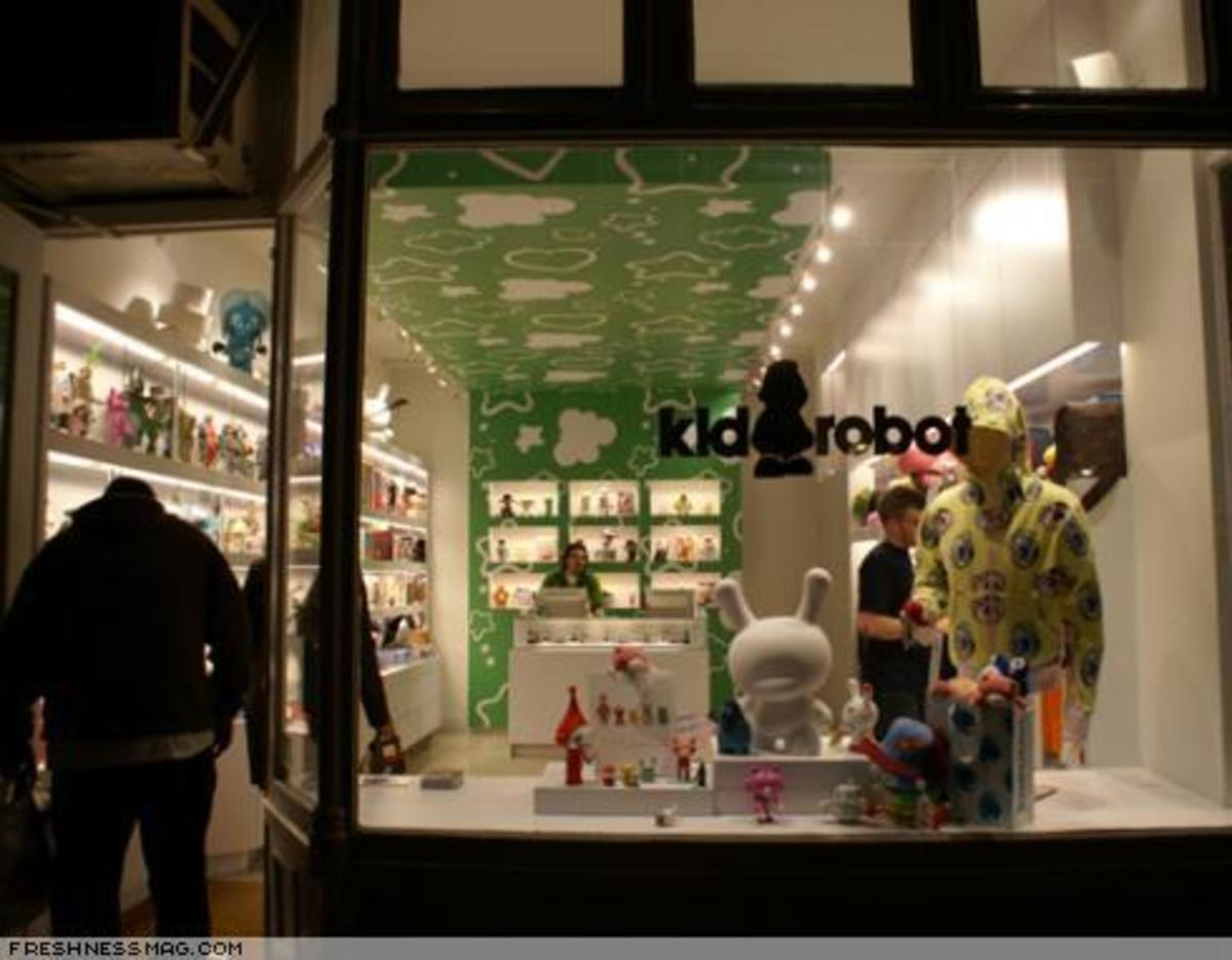 Kidrobot NY - Shop Photos - 4