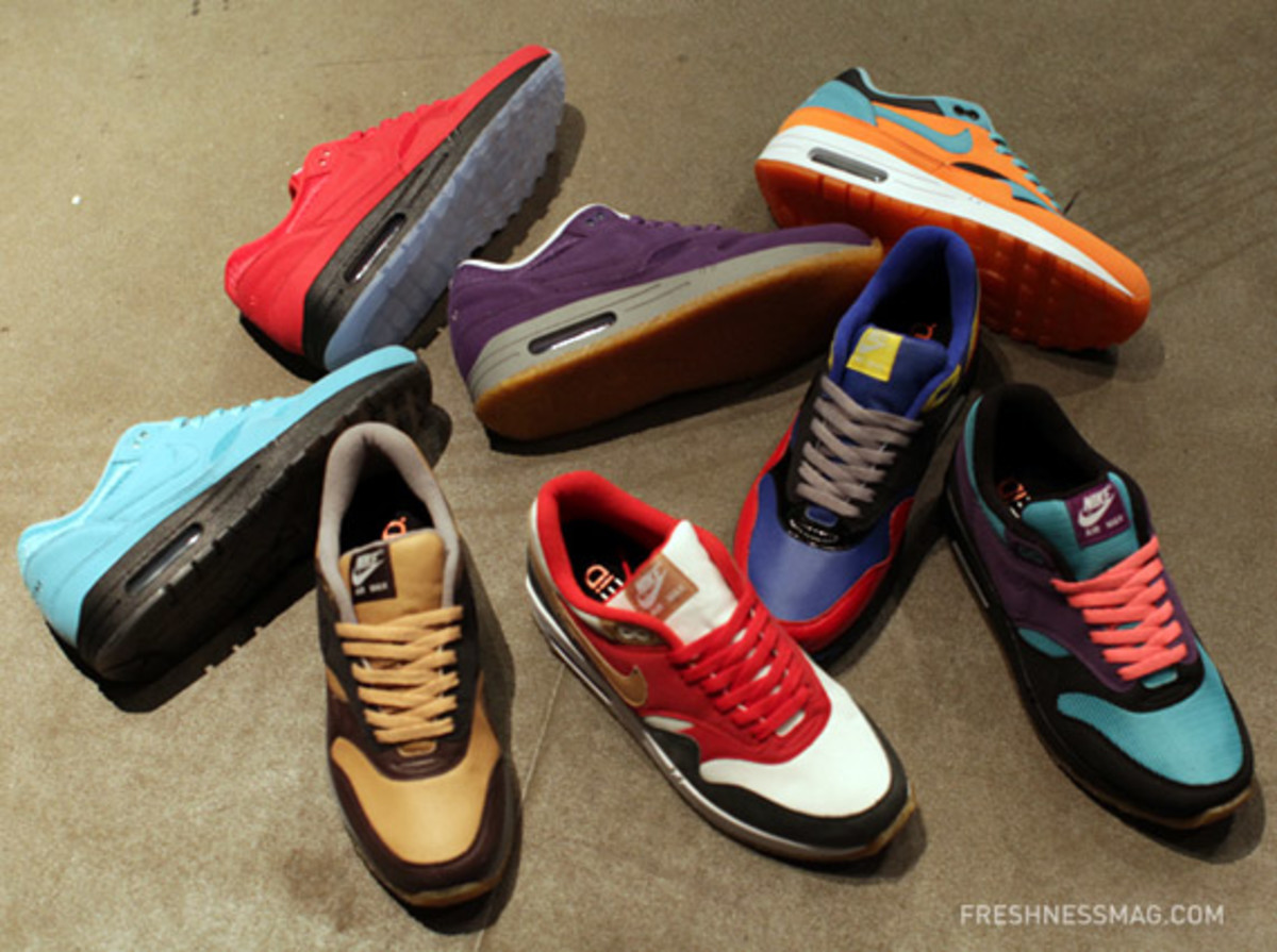 sold worldwide uk cheap sale discount sale NIKEiD Air Max 1 Spring 2011 Design Options & Materials ...