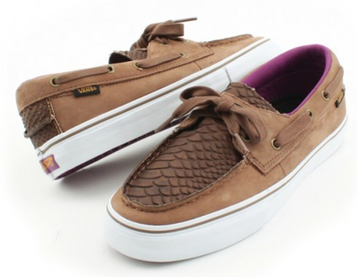 332b6cc0e4 VANS Vault Zapato Del Barco LX - Snake Scale Pack - Freshness Mag