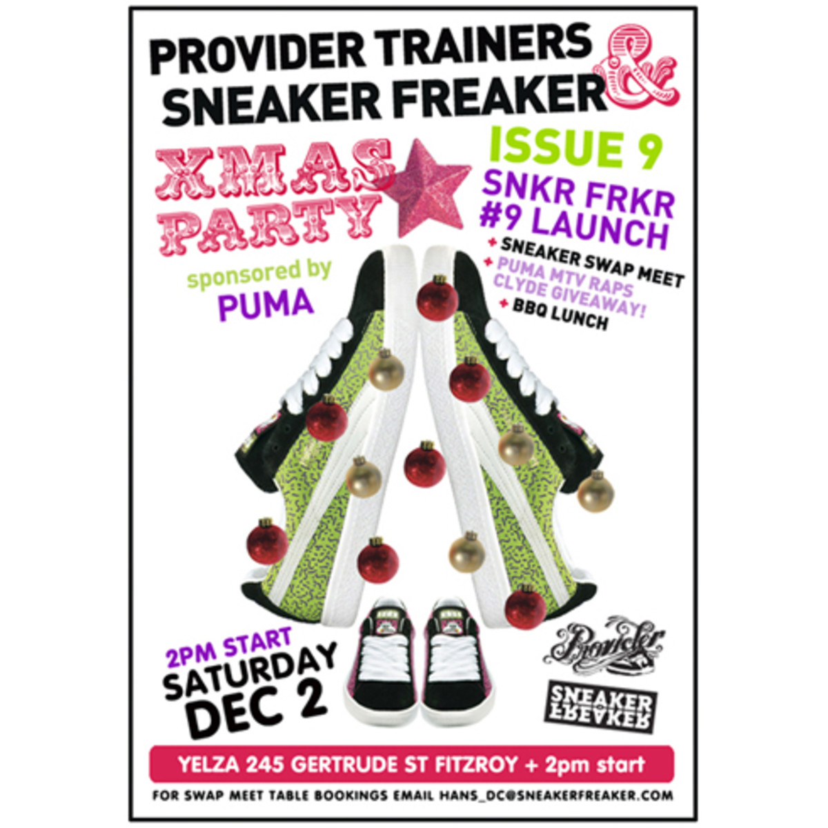 Provider Trainers + Sneaker Freaker - X-Mas Party - 0