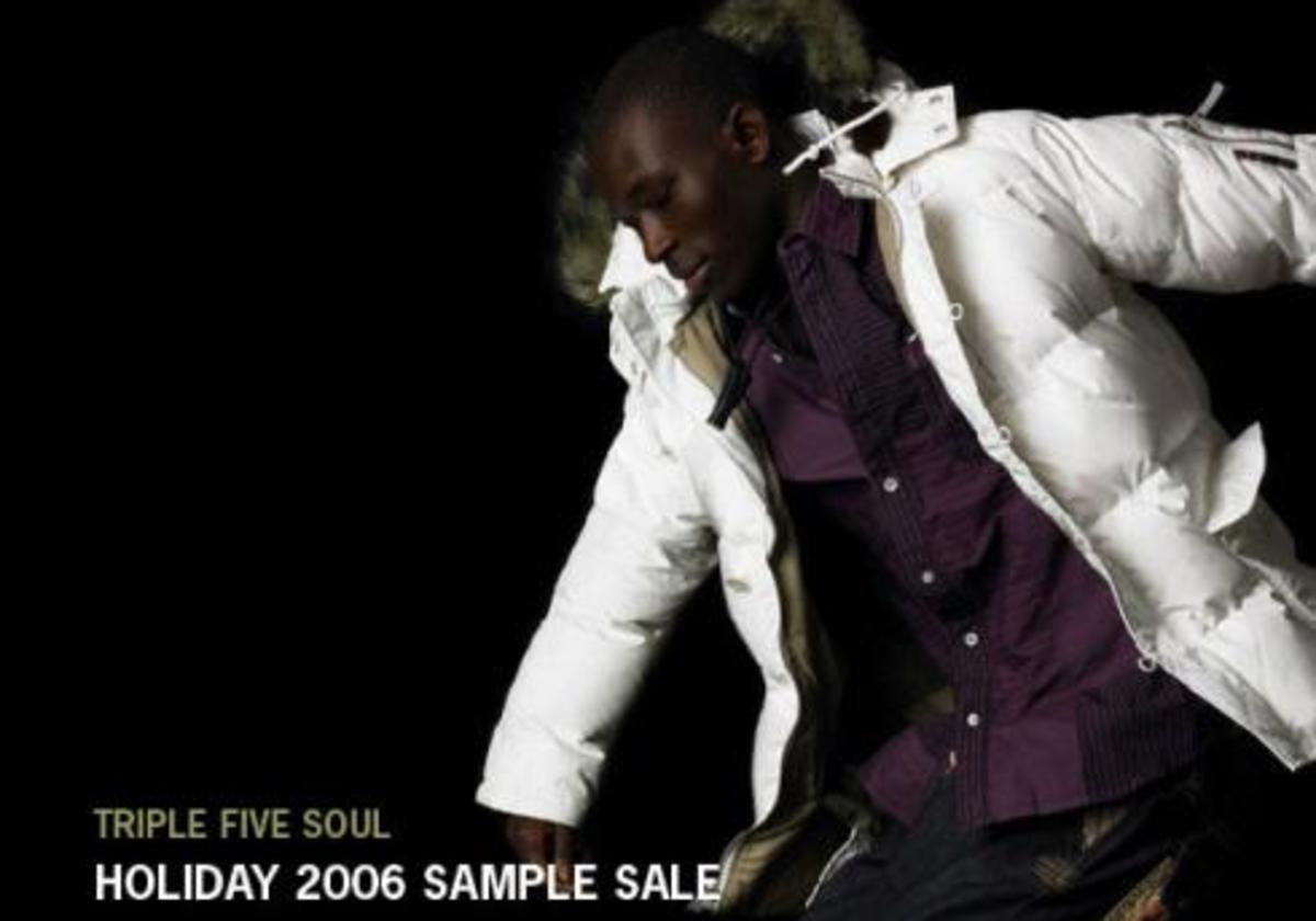 Triple 5 Soul Holiday 2006 Sample Sale - 0