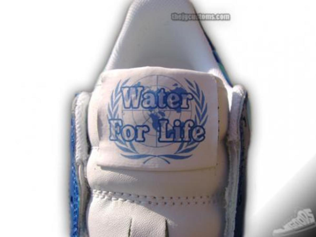 "JGoods x Jay-Z - ""Water for Life"" Customs - 0"