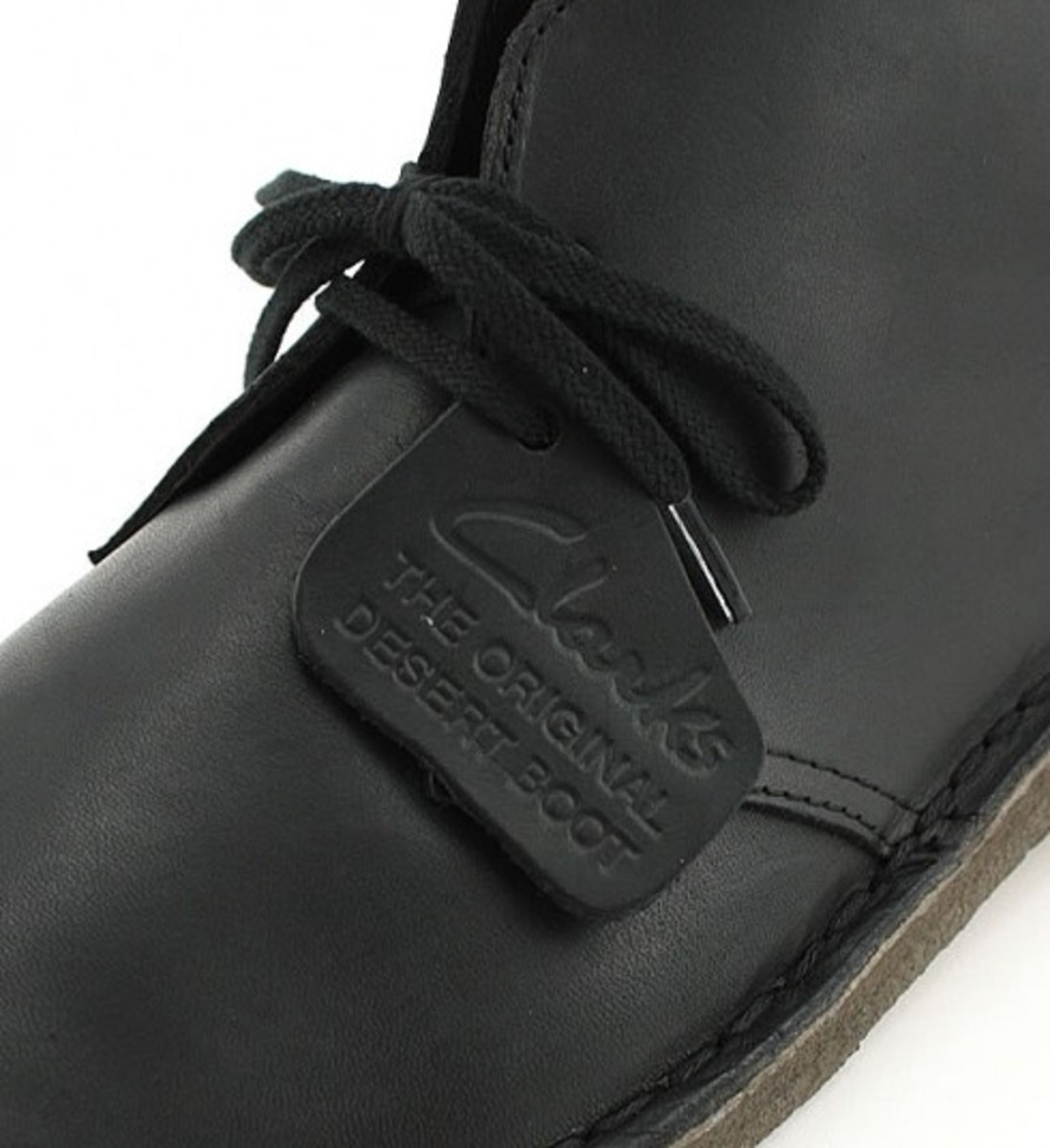 SHIPS x Clarks - Desert Boots Ebony Leather Limited Edition