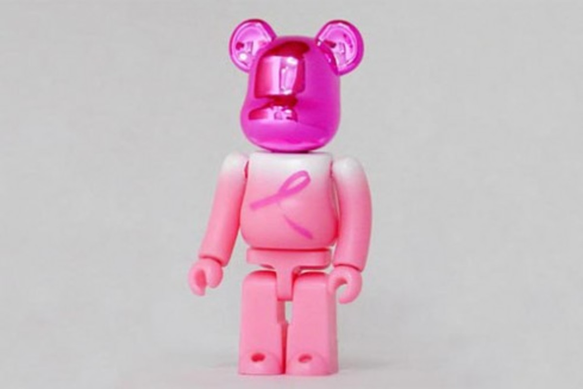 MEDICOM TOY BE@RBRICK - Breast Cancer Awareness - 0