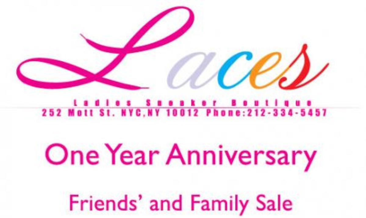 Laces - 1 Year Anniversary Sale - 0