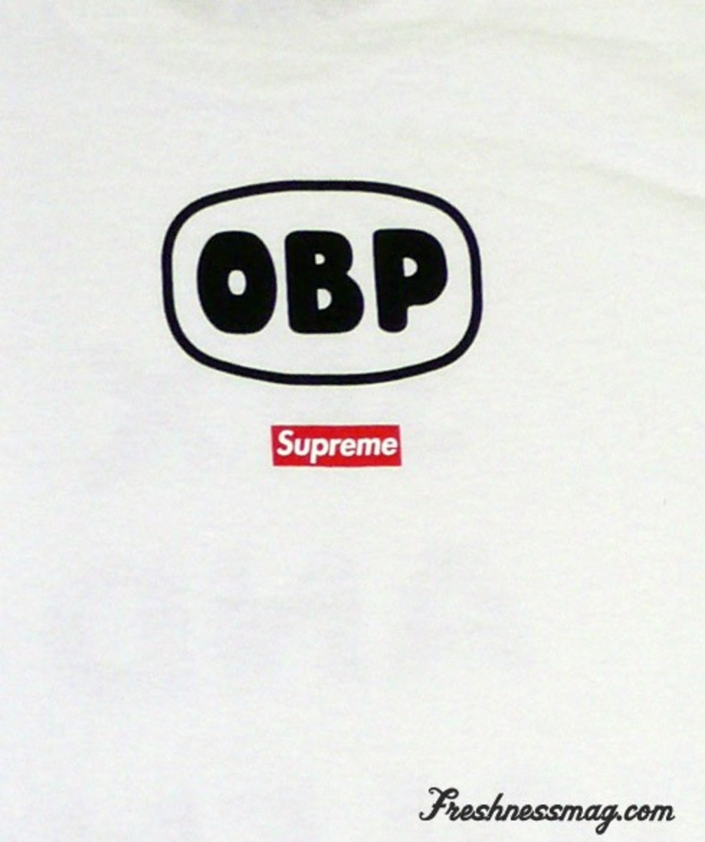Supreme x OBP (Off Bowery) Sex and Violence Tee