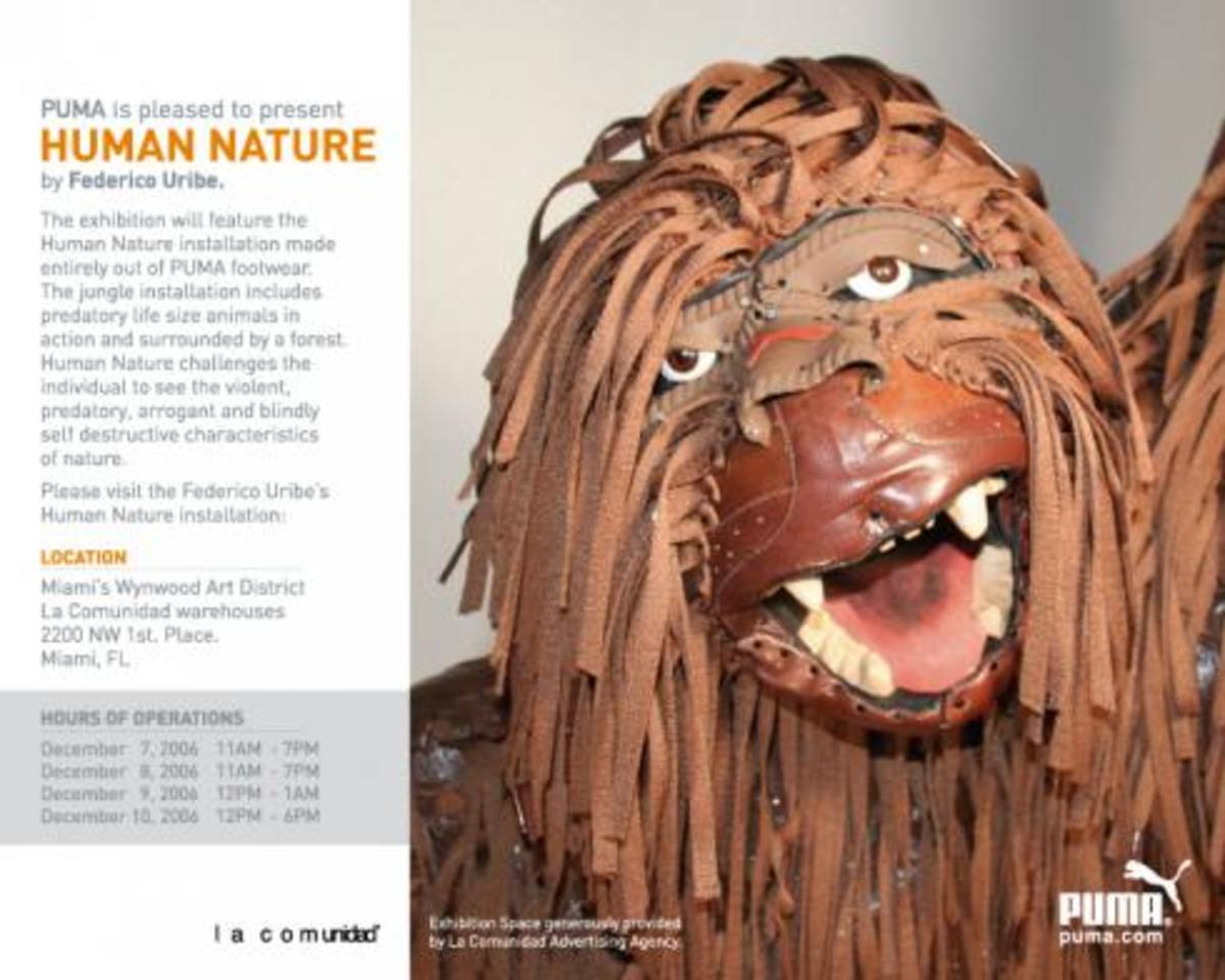 Art Basel 06 Miami: PUMA Presents Human Nature - 0