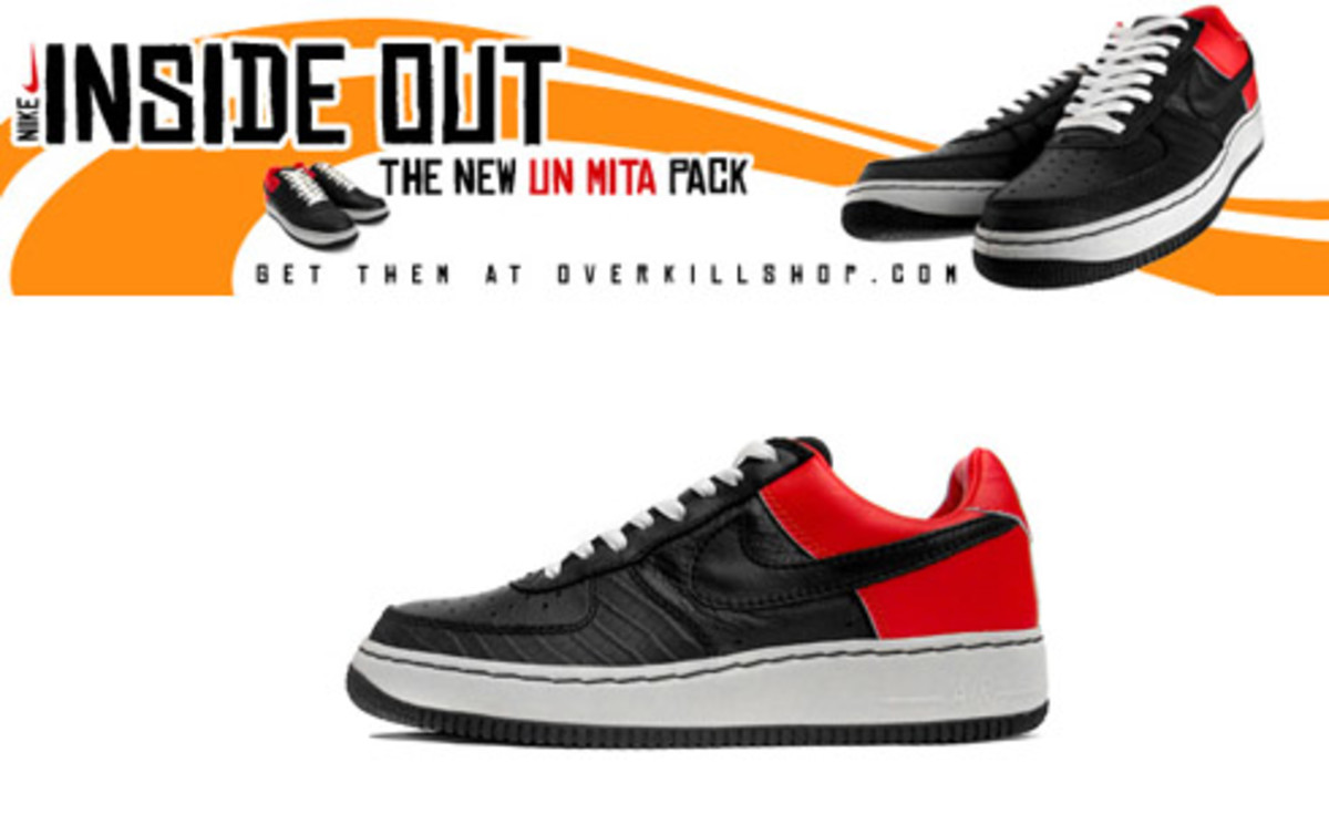"Nike  Air Force 1 Inside Out ""UN MITA"" @ Overkill - 0"